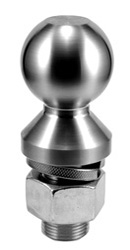 stainless steel hitch balls solid qmc technologies